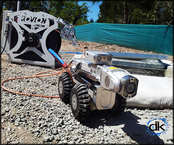 Robotic CCTV Drain Surveys