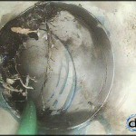 cctv drain inspection of broken drain