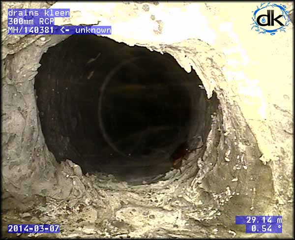 cctv drain survey of drain