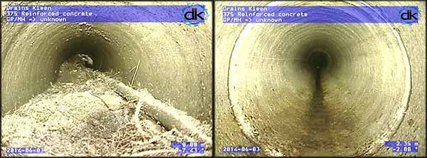 cctv pipe surveys dRAINS kLEEN