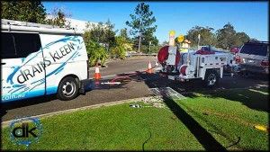 Civil drain cleaning and pipe inspection