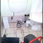 CCTV inspection toilet